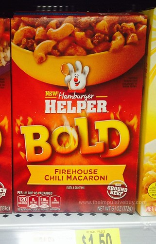 Hamburger Helper Bold Firehouse Chili Macaroni