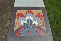 828 Sidewalk Art