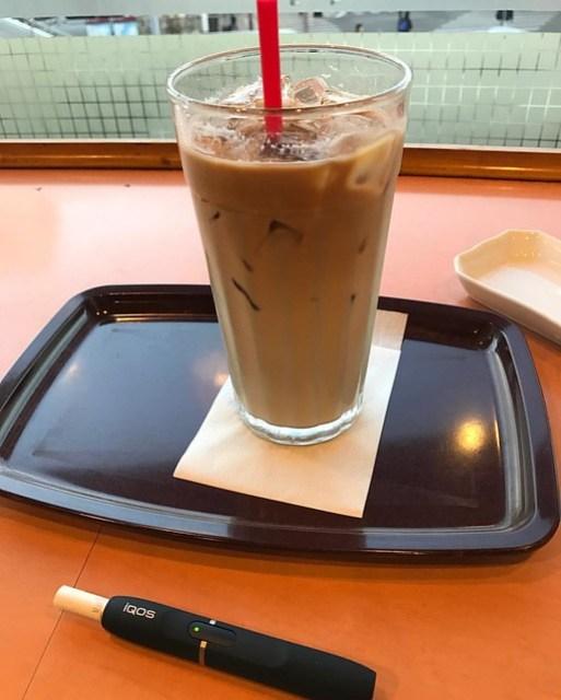 ちょっとコーヒーブレイク! #cafe #iqos #休憩 #cafelatte #excelsior #break #アイコス #コーヒー #カフェラテ