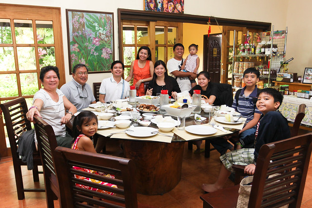 Lunch with the Family at Ming's Garden, Tagaytay