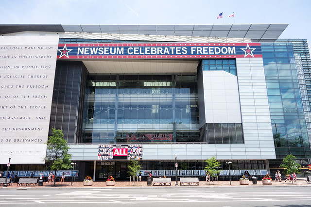 Newseum, Washington DC.