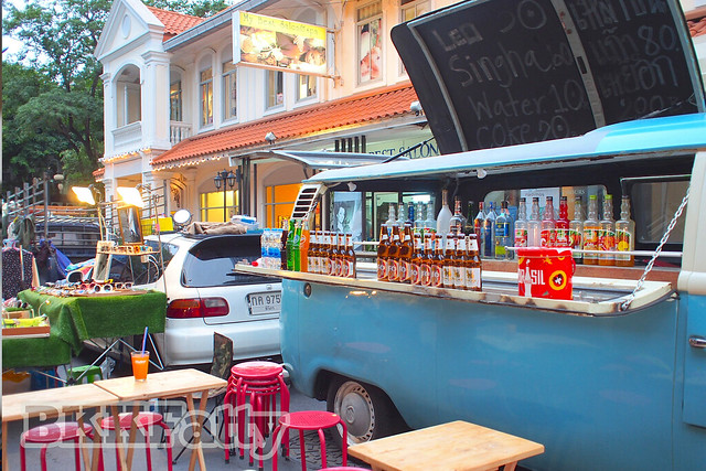 basic beer and cocktail van baan silom