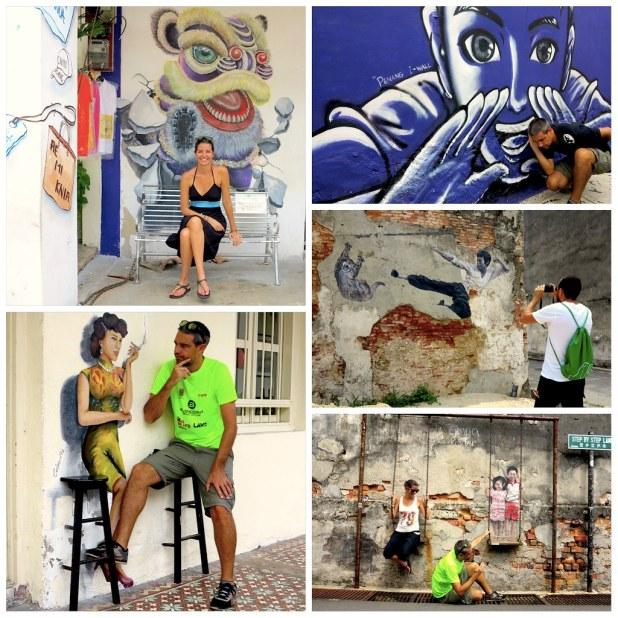 Murales Georgetown Penang