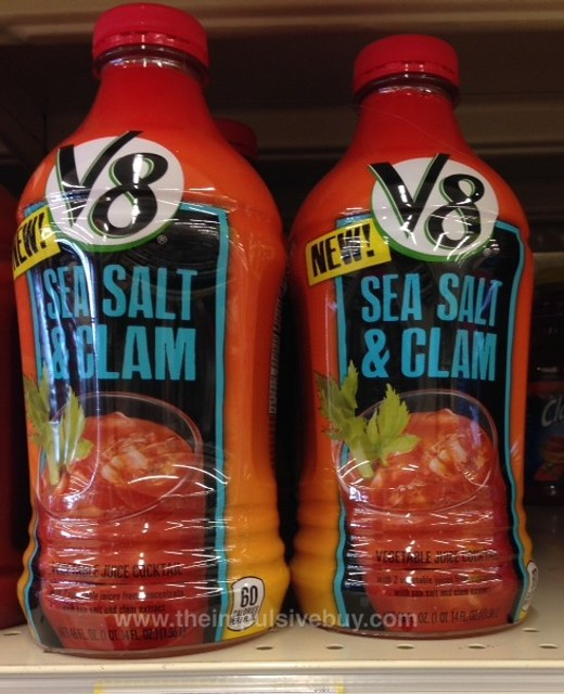 V8 Sea Salt & Clam