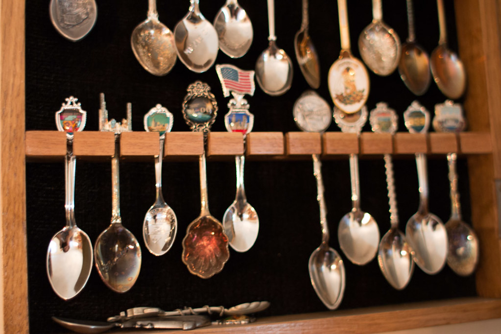 diy spoon collection display project