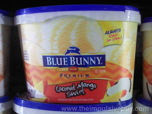 Blue Bunny Coconut Mango Swirl