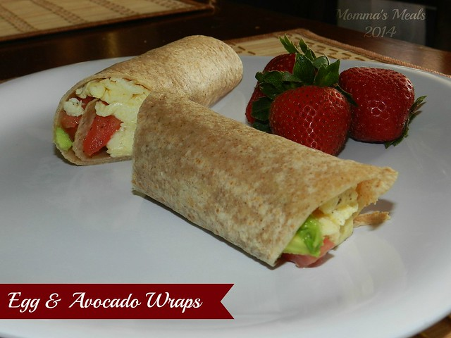 Egg & Avocado Breakfast Wraps (11)