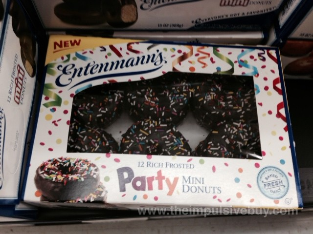 Entenmann's Party Mini Donuts