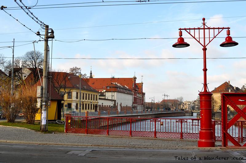 WROCŁAW - Most Piaskowy / Ossolineum