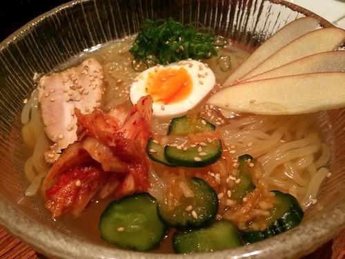 しこしこ冷麺@恵比寿 Kintan