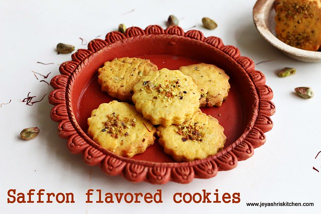 Safforn - flavored- cookies