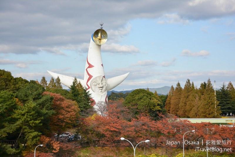 大阪赏枫 万博纪念公园 05