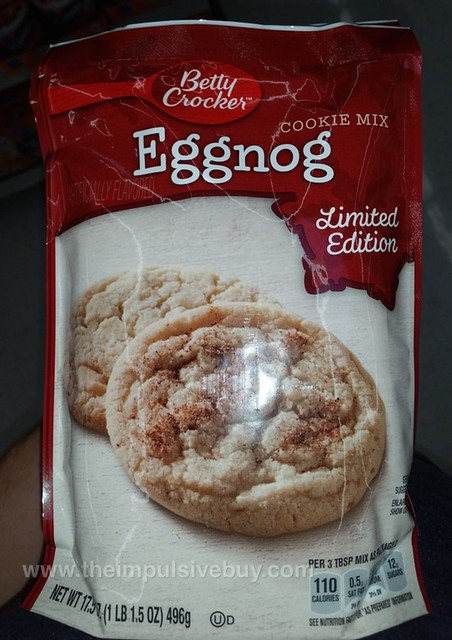 Betty Crocker Limited Edition Eggnog Cookie Mix