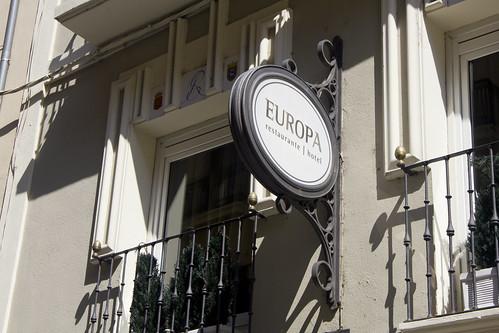 Hotel Europa, Pamplona