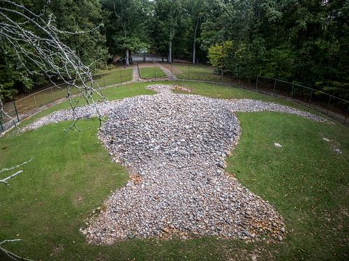 Rock Eagle Effigy Mound