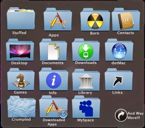 Download MAC OS X Folder Icons