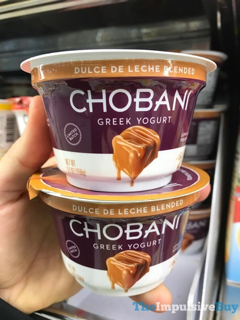 Chobani Limited Batch Dulce De Leche Blended Greek Yogurt