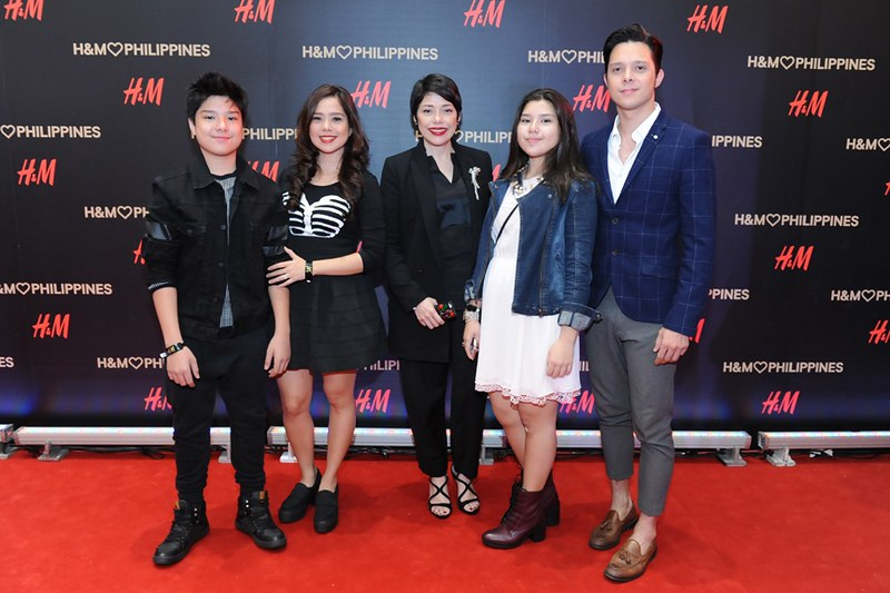 The Magalonas - Arkin, Sab, Pia, Clara and Frank
