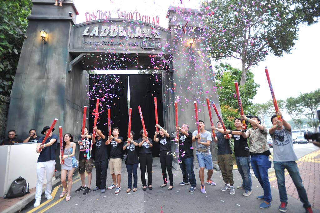 Sentosa Spooktacular 2014 - Opening Ceremony