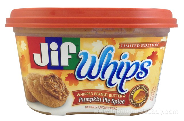 Jif Whips Limited Edition Pumpkin Pie Spice