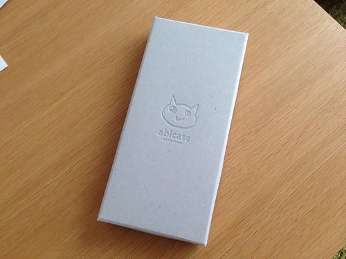 abicase iPhone 6 Plus cwj フォルテ_箱