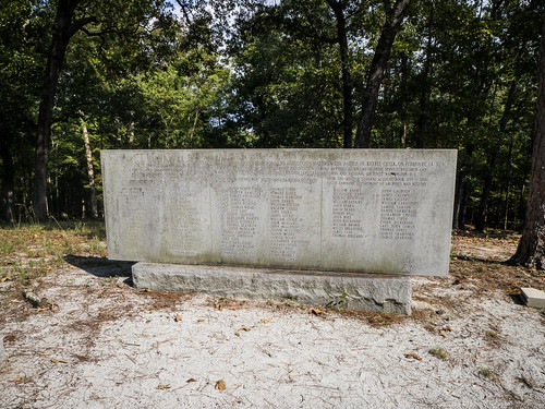 Kettle Creek Battlefield Monument