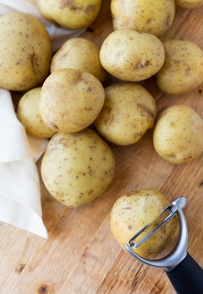 Yukon Gold potatoes