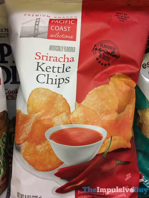 Pacific Coast Selections Sriracha Kettle Chips