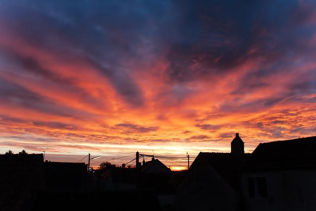 Levé de soleil du 07-11-2014