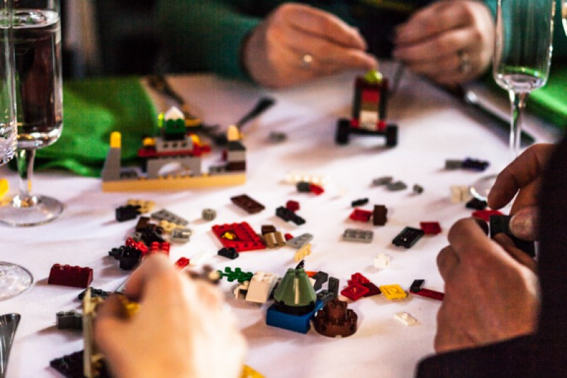 Steal This Interactive Lego Centerpiece Idea