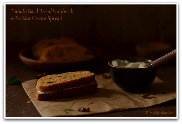 Sour Cream Dip, Sandwich Spread, Blogging Marathon