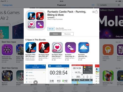 runtastic для iphone ipad