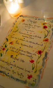 Pepin's Hand Painted menu