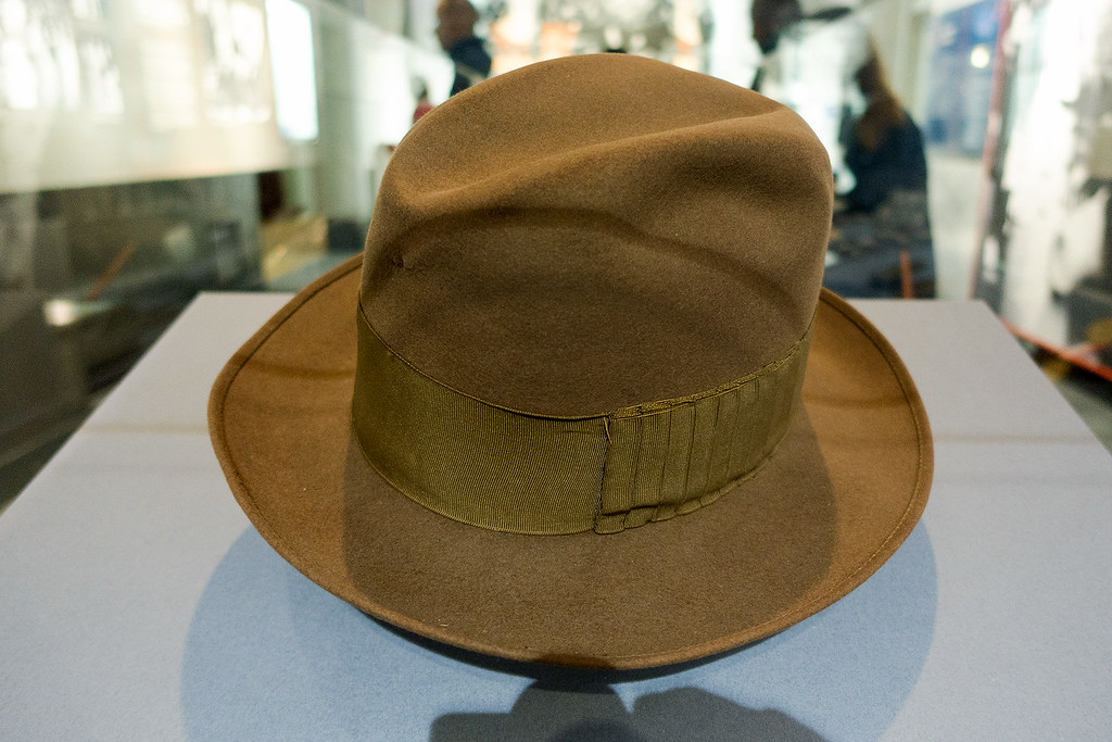 FDR's iconic hat.