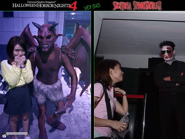 Halloween Horror Nights4 VS Spooktacular 3