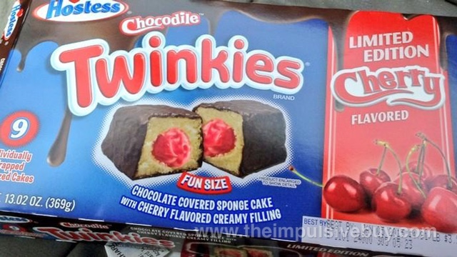 Hostess Limited Edition Cherry Chocodile Twinkies