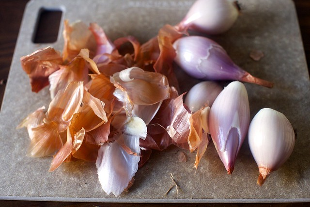 slivers of shallots, if you please