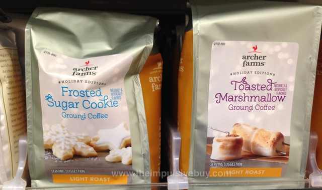 Archer Farms Holiday Edition Frosted Sugar Cookie and Toasted Marshmallow Ground Coffee