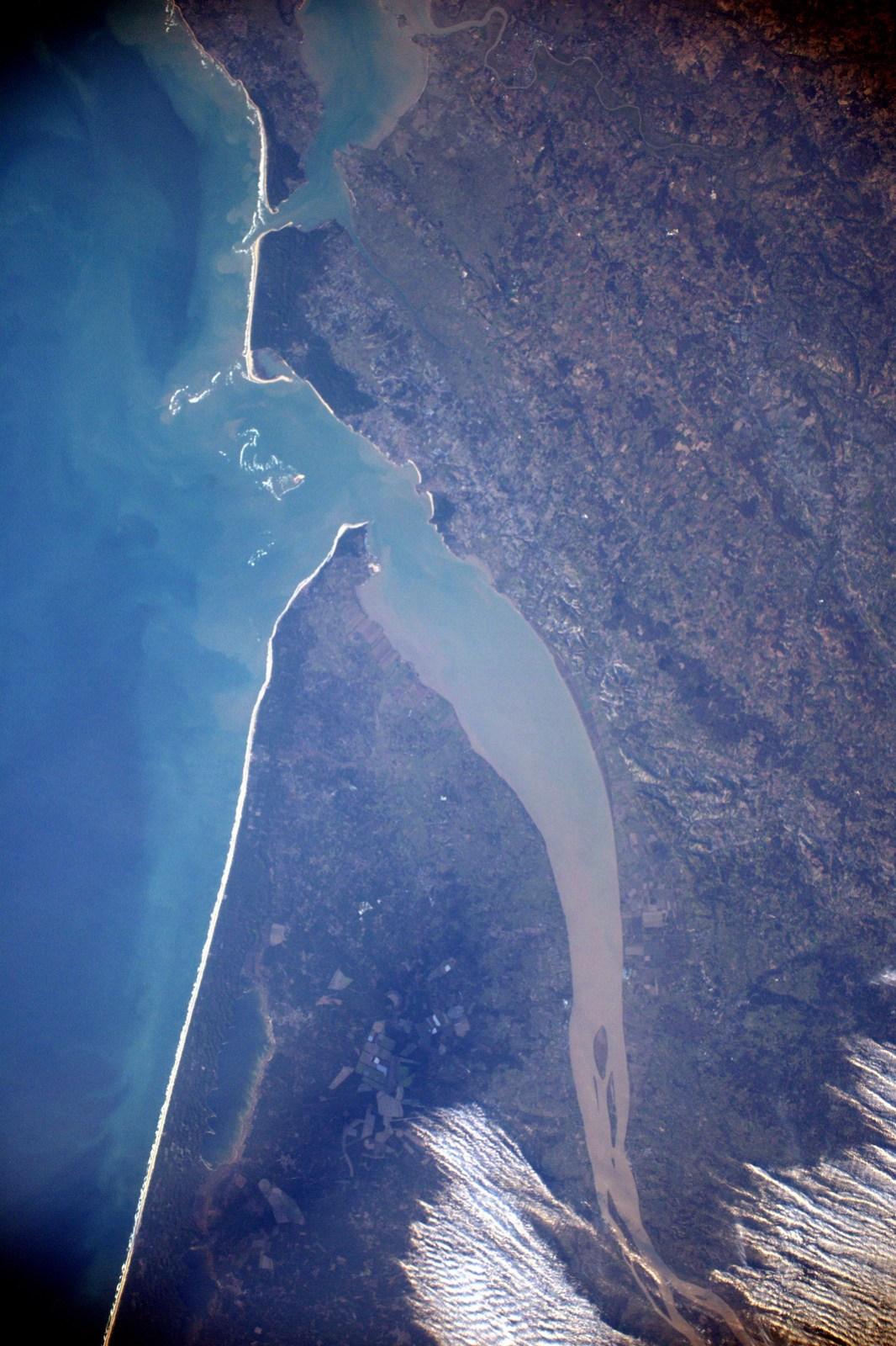 France vue de l'espace par Thomas Pesquet - N°1