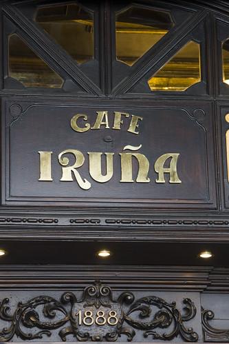 Café Iruña, Pamplona
