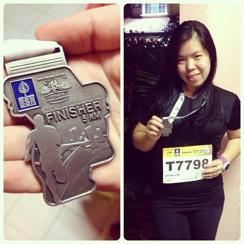 My first run event