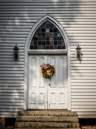 Philomath Church Door