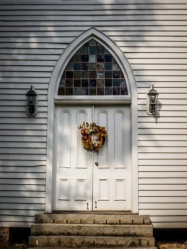 Philomath Church Door