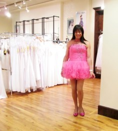 Pink, Frilly, and Fun!