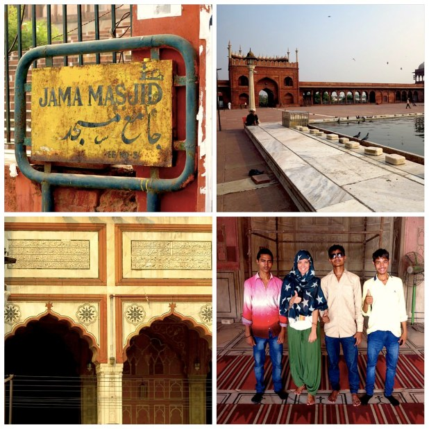 Mezquita Jama Masjid, Nueva Delhi