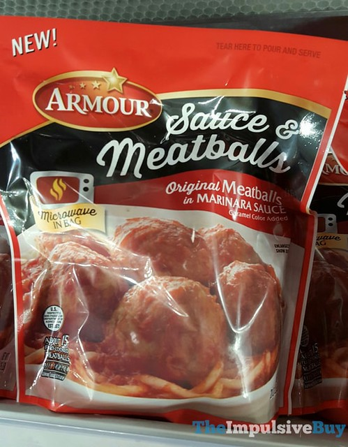 Armour Sauce & Meatballs in Marinara Sauce