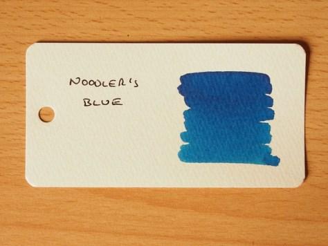 Noodler's Blue - Word Card