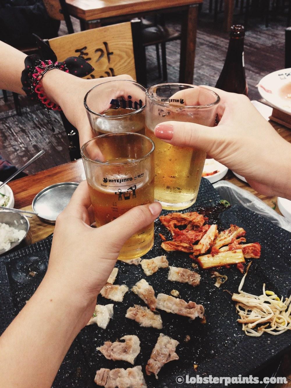28 Sep 2014: Dinner @ Jong-ga Daebaek Jib | Busan, South Korea