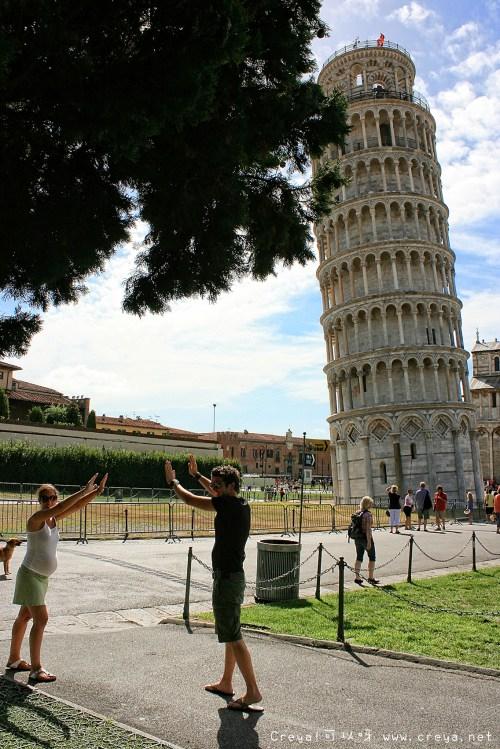 【週間家庭副刊時間】旅遊故事 20141016 關於和比薩拍照這件事