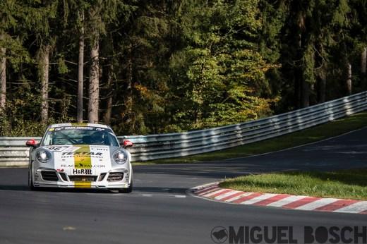 VLN. Round 9 DMV 250-Meilen-Rennen at the Nürburgring 11 October 2014